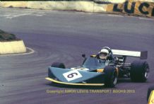 "March 732 BDG Bill Gubelmanni  Shellsport 5000 Mallory March 1976 7x5"" photo"